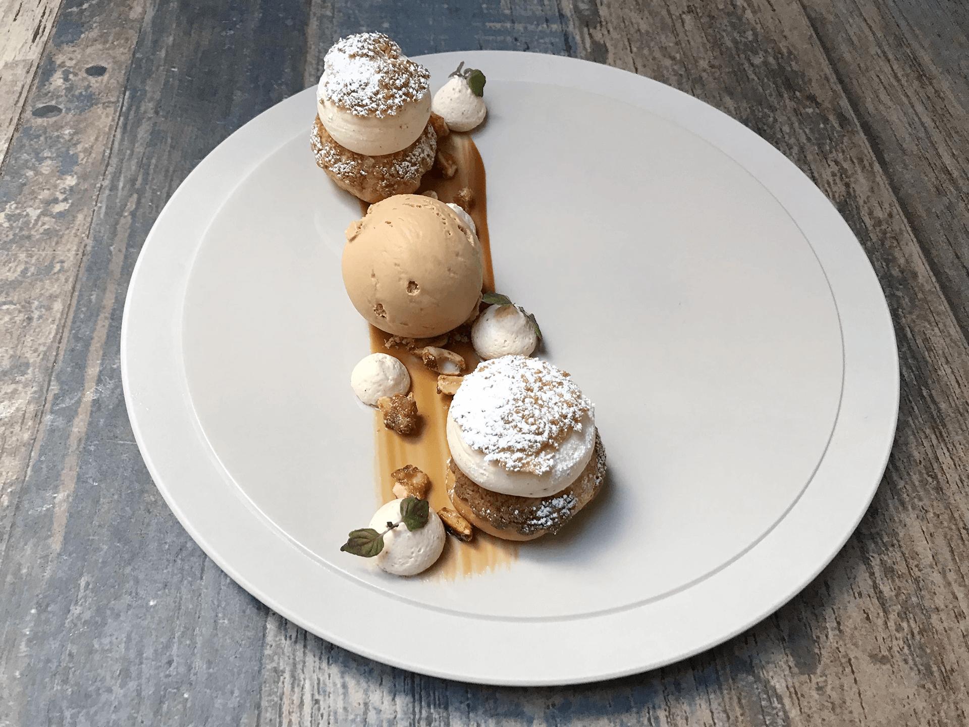 dessert dréssée